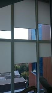 Жалюзи на витражные окна в гостинице Краснодар