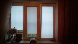 Рулонные шторы в коттедже Краснодара