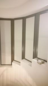 Рулонные шторы в современном коттедже Краснодара
