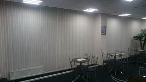 Вертикальные жалюзи в конференц-зале г.Краснодар