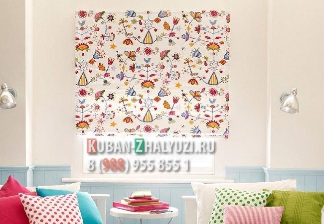 Рулонные шторы для детской в Краснодаре