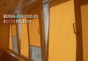 Рулонные шторы на пластиковые окна в Краснодаре