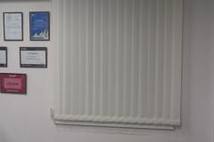 Вертикальные жалюзи в офисном помещении Краснодара