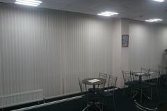 Вертикальные жалюзи в конференц-зале офисного здания г. Краснодара