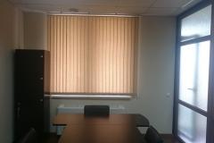 Вертикальные жалюзи в кабинете офиса в Краснодаре