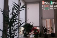 Кассетные жалюзи установленные на балконе квартиры Краснодар