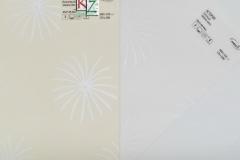 """Рулонные шторы, ткань """"Астория"""" бежевый и белый"""